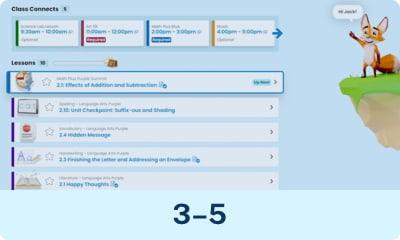 Un vistazo dentro de la escuela en línea: grados 3-5 video