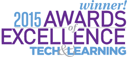 Seal and Logo for Tech and Learning Awards of Excellence, 2015