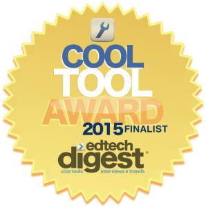 Seal and Logo for EdTech Digest -Cool Tool Award 2015 Finalist