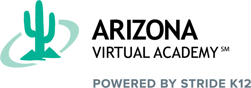 Logo of Arizona Virtual Academy - Powered by K12