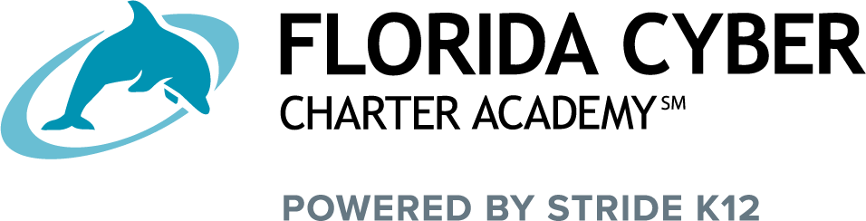 Logo of Florida Charter Cyber Academy - Powered by K12