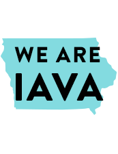 A Graphic that reads We are IAVA