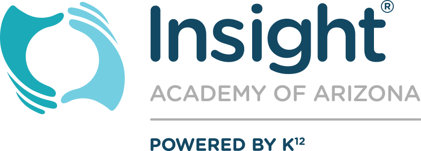 Logo of Insight Academy of Arizona - Powered by K12
