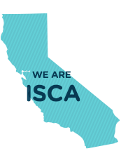 California State with We are ISCA text