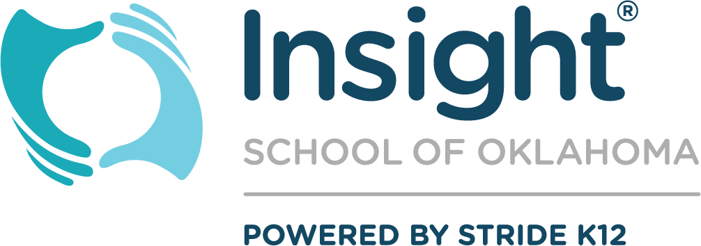 Logo for Insight School for Oklahoma - Powered by K12