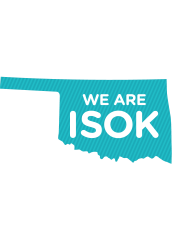 Graphic with text We are ISOK