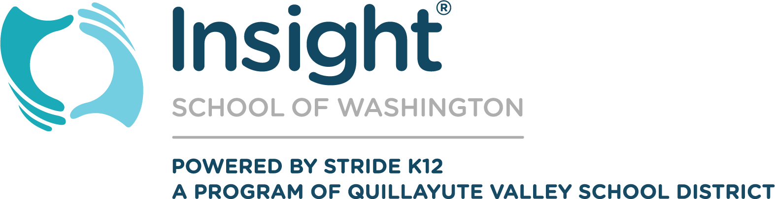 Logo of Insight School of Washington - Powered by K12