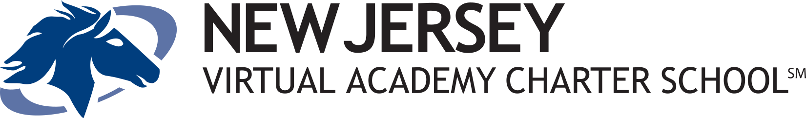 Logo of New Jersey Virtual Academy - Powered by K12