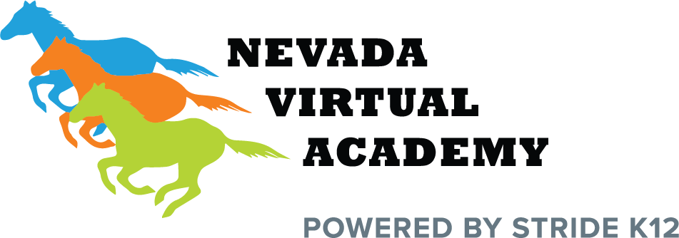 Logo of Nevada Virtual Academy - Powered by K12