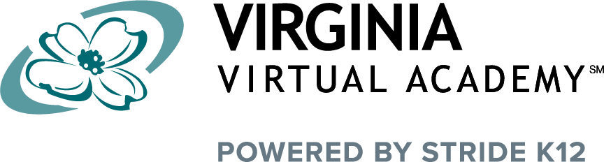 Logo of Virginia Virtual Academy - Powered by K12